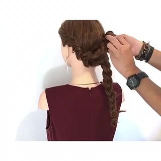 涼しげ エレガント 上品 夏 ヘアスタイルや髪型の写真・画像
