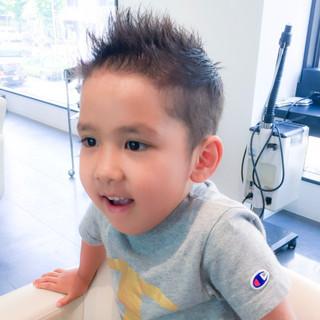 ナチュラル かっこいい 子供 かわいい ヘアスタイルや髪型の写真・画像