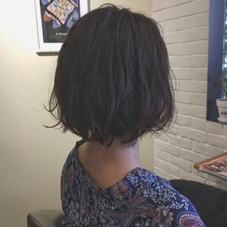 色気 黒髪 ニュアンス アンニュイ ヘアスタイルや髪型の写真・画像