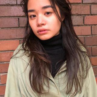 レイヤーロングヘア 外国人風 外国人風パーマ ロング ヘアスタイルや髪型の写真・画像