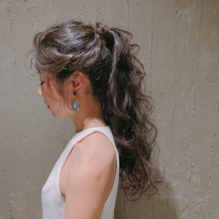ヘアアレンジ ロング ブライダル 結婚式ヘアアレンジ ヘアスタイルや髪型の写真・画像