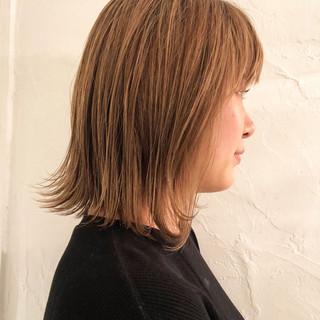 ミディアム 外国人風 エレガント デート ヘアスタイルや髪型の写真・画像