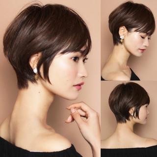 ショート 吉瀬美智子 40代 田丸麻紀 ヘアスタイルや髪型の写真・画像
