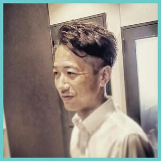 モード 刈り上げ パーマ 坊主 ヘアスタイルや髪型の写真・画像