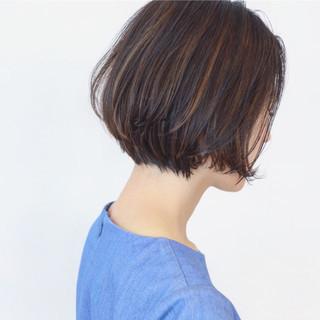 外国人風 ショートボブ 大人女子 ショート ヘアスタイルや髪型の写真・画像 ヘアスタイルや髪型の写真・画像