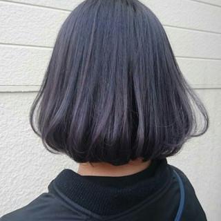 ハイトーン ダブルカラー パープル ストリート ヘアスタイルや髪型の写真・画像 ヘアスタイルや髪型の写真・画像