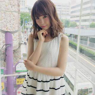 大人女子 斜め前髪 色気 アンニュイ ヘアスタイルや髪型の写真・画像