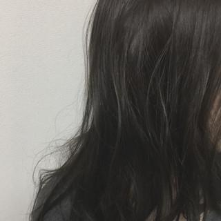 かっこいい 秋 フェミニン セミロング ヘアスタイルや髪型の写真・画像 ヘアスタイルや髪型の写真・画像