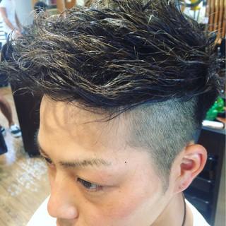 ボーイッシュ 坊主 ショート ハイライト ヘアスタイルや髪型の写真・画像