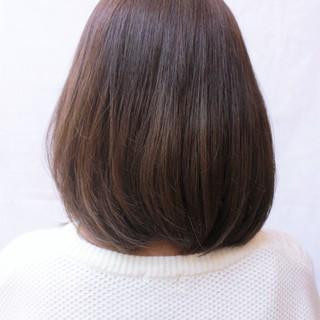 ショート 色気 ナチュラル ボブ ヘアスタイルや髪型の写真・画像