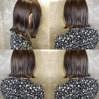 ナチュラル オフィス アディクシーカラー ベージュ ヘアスタイルや髪型の写真・画像 ヘアスタイルや髪型の写真・画像