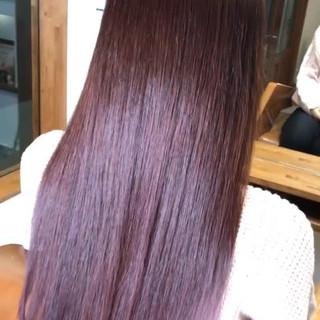 ガーリー 成人式 大人女子 バレイヤージュ ヘアスタイルや髪型の写真・画像