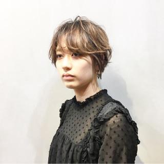 ショートヘア ベリーショート ミニボブ ナチュラル ヘアスタイルや髪型の写真・画像