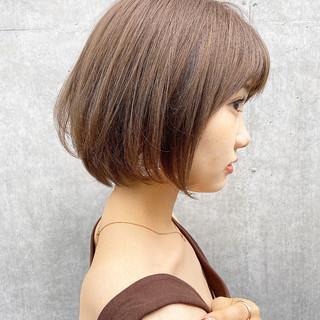 ショート ショートヘア モテ髪 小顔ヘア ヘアスタイルや髪型の写真・画像