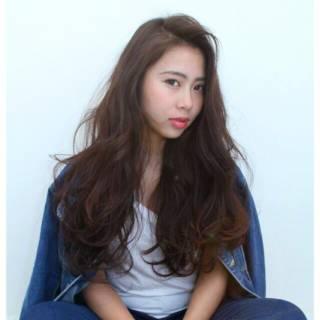 外国人風 ストリート 暗髪 春 ヘアスタイルや髪型の写真・画像