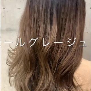 冬 アンニュイほつれヘア デート ロング ヘアスタイルや髪型の写真・画像