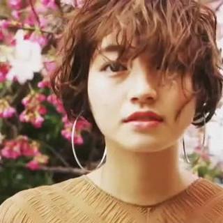 ボブ パーマ 似合わせカット 阿藤俊也 ヘアスタイルや髪型の写真・画像