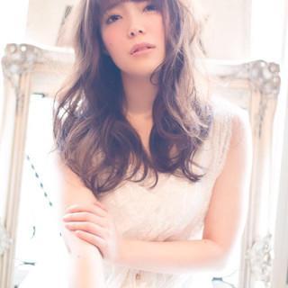 モテ髪 フェミニン ガーリー おフェロ ヘアスタイルや髪型の写真・画像
