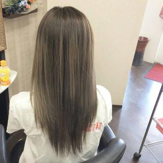 ダブルカラー グラデーションカラー ハイトーンカラー ガーリー ヘアスタイルや髪型の写真・画像