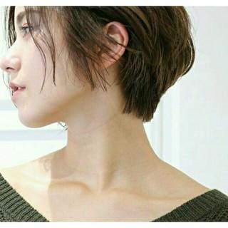 外国人風 暗髪 大人かわいい ストリート ヘアスタイルや髪型の写真・画像