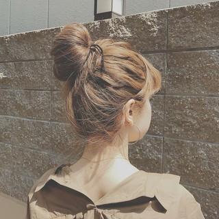 パーティ フェミニン ロング ヘアアレンジ ヘアスタイルや髪型の写真・画像