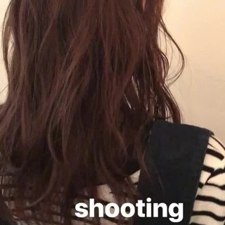 ピンク ベージュ 簡単ヘアアレンジ ゆるふわ ヘアスタイルや髪型の写真・画像