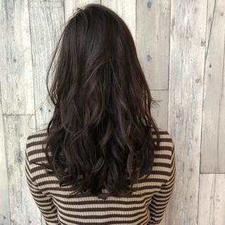 アンニュイ セミロング 上品 ゆるふわ ヘアスタイルや髪型の写真・画像