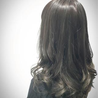オリージュ インナーカラー ハイライト グラデーションカラー ヘアスタイルや髪型の写真・画像