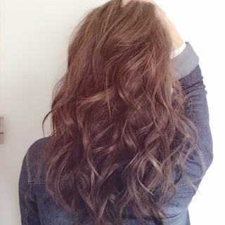 モテ髪 外国人風カラー ロング フェミニン ヘアスタイルや髪型の写真・画像