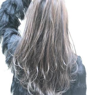 ナチュラル 透明感カラー 圧倒的透明感 ロング ヘアスタイルや髪型の写真・画像