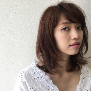 斉藤由香利さんのヘアスナップ