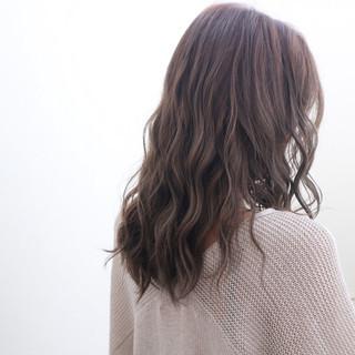 ロング マット 暗髪 モード ヘアスタイルや髪型の写真・画像