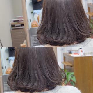 デート 色気 イルミナカラー アッシュ ヘアスタイルや髪型の写真・画像