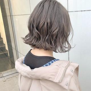 ボブ ヘアアレンジ 大人かわいい ストリート ヘアスタイルや髪型の写真・画像