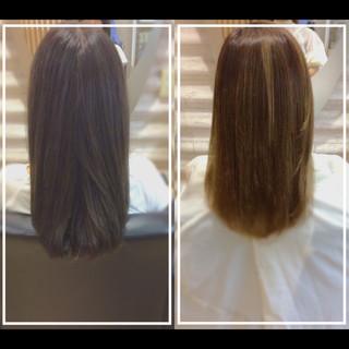 髪質改善 艶髪 ロング 大人ヘアスタイル ヘアスタイルや髪型の写真・画像
