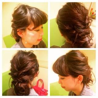 ナチュラル 愛され ショート ヘアアレンジ ヘアスタイルや髪型の写真・画像 ヘアスタイルや髪型の写真・画像