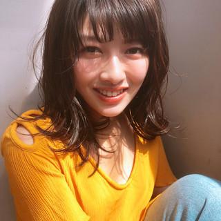 ヘアアレンジ デート フェミニン ナチュラル ヘアスタイルや髪型の写真・画像