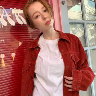 ショートヘア ショート ベリーショート ストリート ヘアスタイルや髪型の写真・画像