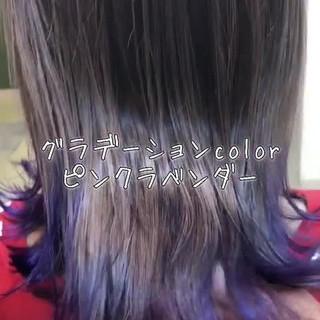 外国人風 外国人風フェミニン 外国人風カラー インナーカラー ヘアスタイルや髪型の写真・画像 ヘアスタイルや髪型の写真・画像