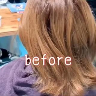 ボブ ヘアアレンジ ボブヘアー ガーリー ヘアスタイルや髪型の写真・画像