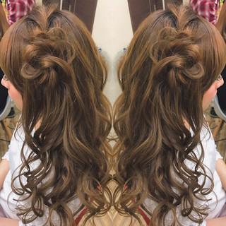 デート 女子会 結婚式 ゆるふわ ヘアスタイルや髪型の写真・画像