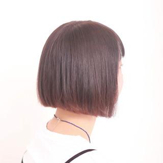 ダブルカラー モード インナーカラー インナーカラーパープル ヘアスタイルや髪型の写真・画像