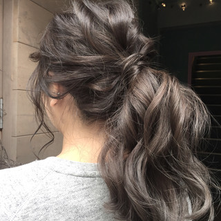 ウェーブ ナチュラル ゆるふわ 女子力 ヘアスタイルや髪型の写真・画像