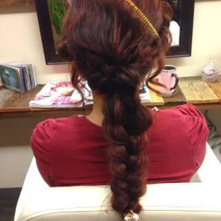 モード 暗髪 ストリート アップスタイル ヘアスタイルや髪型の写真・画像