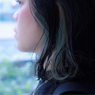 大人女子 ボブ ミディアム ストリート ヘアスタイルや髪型の写真・画像