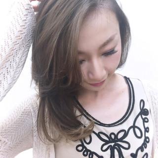 外国人風 ブラウン 渋谷系 ロング ヘアスタイルや髪型の写真・画像