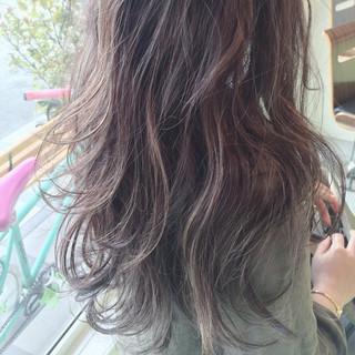 ヘアアレンジ グラデーションカラー 夏 ストリート ヘアスタイルや髪型の写真・画像