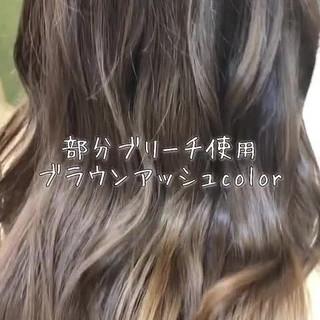 外国人風 外国人風フェミニン ナチュラル ロング ヘアスタイルや髪型の写真・画像