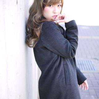大人かわいい モード アッシュ 外国人風 ヘアスタイルや髪型の写真・画像