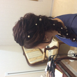 ナチュラル 簡単ヘアアレンジ 編み込みヘア ヘアアレンジ ヘアスタイルや髪型の写真・画像